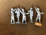 Lot of 5 Vintage Lead Soldiers
