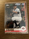 Topps Cease Dylan Birmingham Barons Topps Gold 50 Made