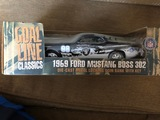 1968 Ford Mustang Boss 302 Goal Line  Oakland Raiders