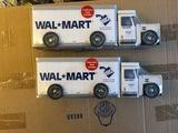 2 Walmart Trucks