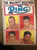 1952 (May) The Ring, Boxing magazine, Jersey Joe Walcott, Ezzard Charles
