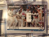 Topps Rally Time Opening Day Albies Ozzie Atlanta Braves