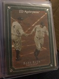 UD MasterPieces Babe Ruth Yankees Green SP