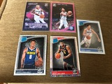 5 Card Lot Omari Spellman, Jarred Vanderbilt, Landry Shamet