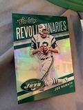 Absolute Football Revolutionaries Joe Namath Jets New York