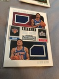 2018-19 Panini Contenders Basketball Rookie Dual Ticket Shai Gilgeous Alexander Clippers, Kevin Knox