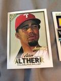 Topps Galllery Artist Proof Aaron Altherr Philadelphia Phillies