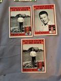 3 Card Lot Boyhood Photos Of The Stars Wilbur Wood, Dave McNally