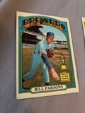 1971 Topps Bill Parsons Brewers All-Star Rookie