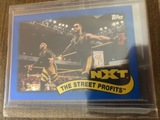 The Street Profits NXT Topps Cards