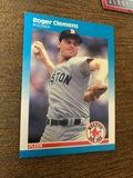 Roger Clemens Pitcher Fleer Baseball Cards