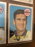 Dave Morehead Pitcher Royals Baseball Cards