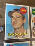 Paul Popovich Dodgers Baseball Cards