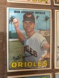 Bob Jonnson Infield Orioles Baseball Card