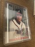 Tom Glavine Braves Baseball Trading Card