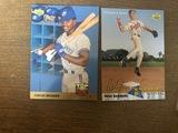 Carlos Delgado, Peter Gammons Baseball Trading Card