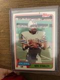 Ken Stabler Topps Oilers QB Football Card