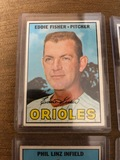Eddie Fisher Orioles Pitcher Baseball Card