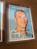 Dave Nicholson Braves Baseball Card
