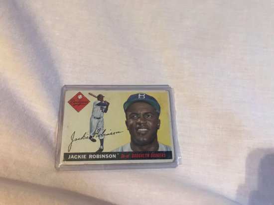 1955 Topps Jackie Robinson Card