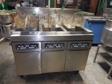 Frymaster MACH1352MRSD 3 Bank Gas Fryer