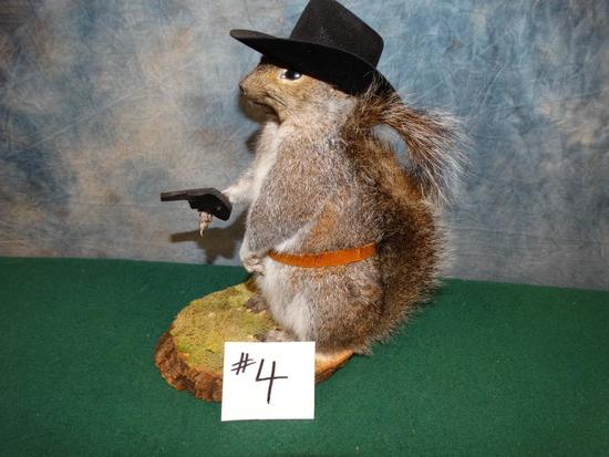 Cowboy Squirrel