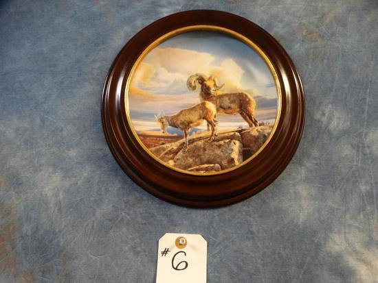 """Nancy Glazier Limited Edition Print """"Desert Bighorn"""""""