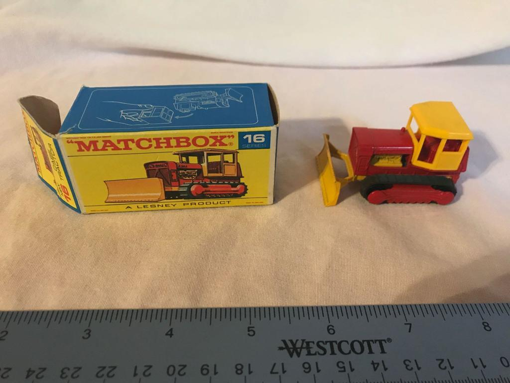 Matchbox Lesney Series 16 Case Tractor w/box