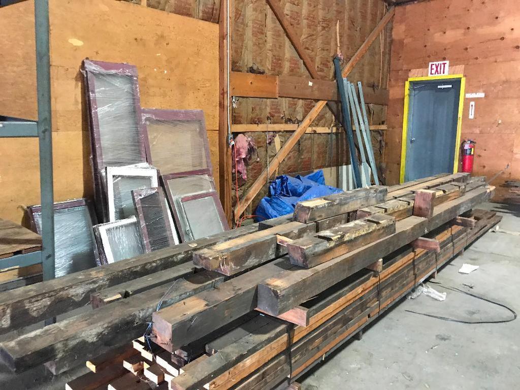 Habiat For Humanity Reclaimed Lumber