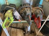 Lot of (3) Chainsaws