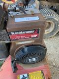 Yard Machines Tiller