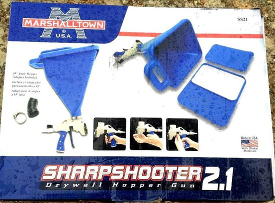 Used - Sharpshooter 2.1 Drywall Hopper Gun