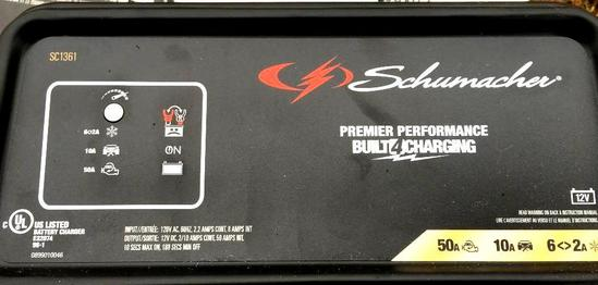 Schumacher Battery Charger - Model # SC1361