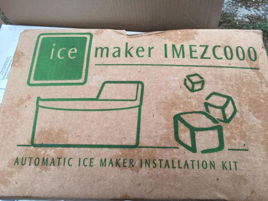 Ice Maker IMEZC000- Automatic Ice Maker Installation Kit