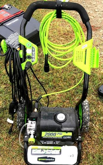 Greenworks 2000 PSI Power Washer - Electric -GPW 2000-1