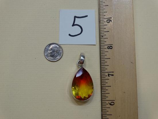 Beautiful 56.80 Carats Certified Ametrine Pendant