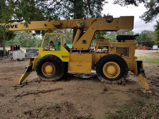 Grove 33980 14 ton crane