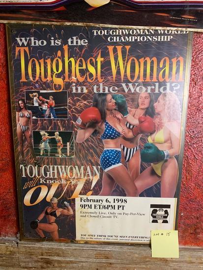 Toughwoman World Championship Promo Poster