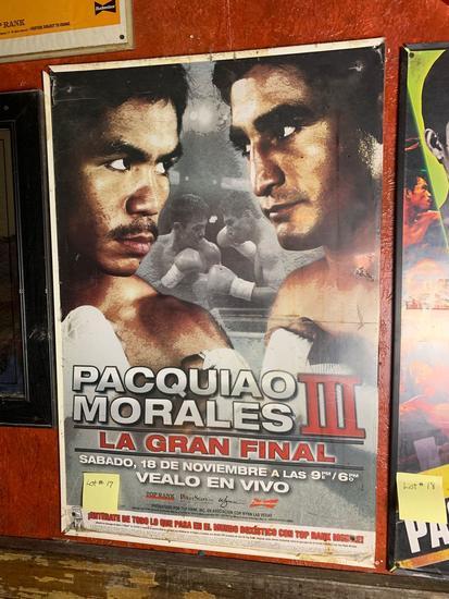 Pacquiao VS Morales III Promo Poster