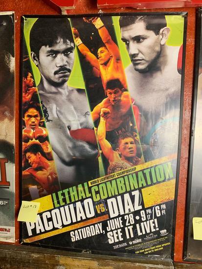 Pacquiao VS Diaz Promo Poster