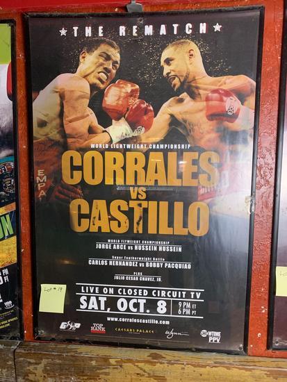 Corrales vs Castillo Promo Poster