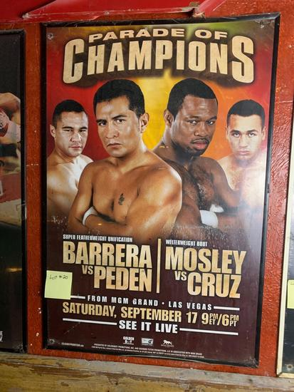 Parade of Champions Promo Poster