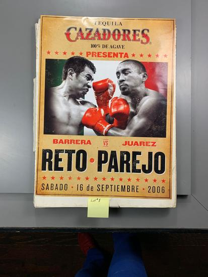 Unopened Case of Reto-Parejo 2006 Cazadorez Promotional Posters