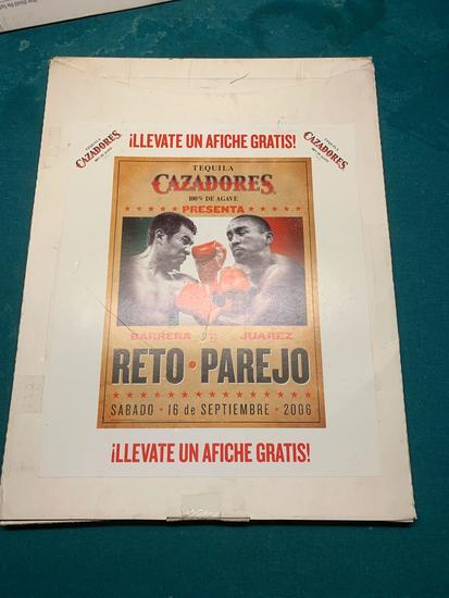Unopened Case of Reto-Parejo Caxadorez Promotional Posters