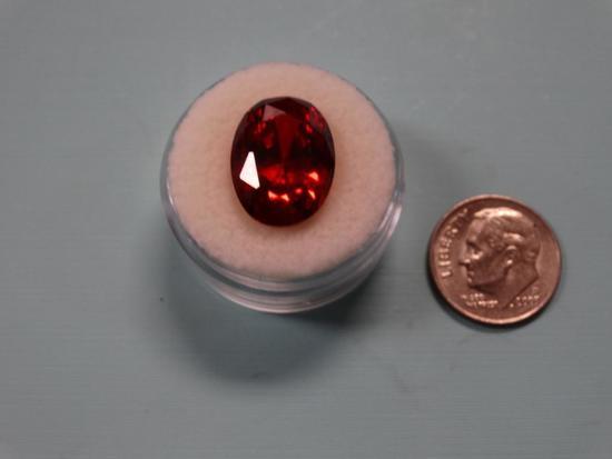 AAAAA+ 14.05 Ct. Burma (Myanmar) Quality Loose Ruby Gemstone