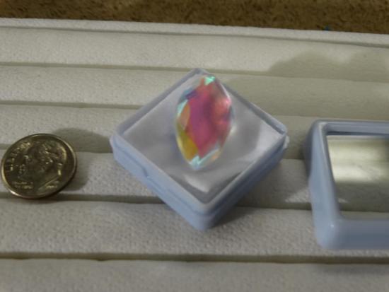13.30 Ct. Marquise Shape Rainbow Mystic Topaz