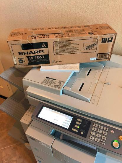 USED SHARP COPIER AR-M355U MONO LASER COPIER PRINTER