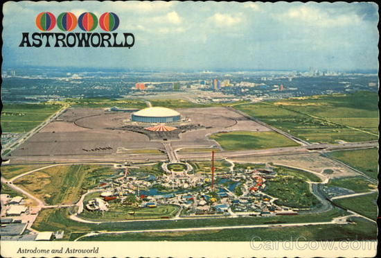 AstroWorld Amusement Park Fixtures & Collectibles