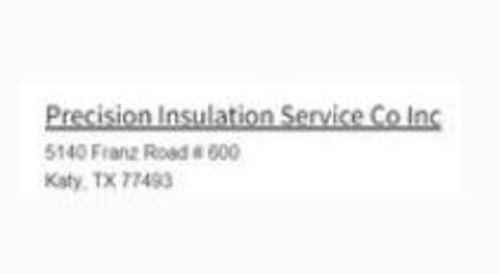 Precision Insulation Service Company Inc.