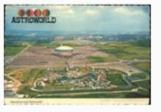 AstroWorld Amusement Park Fixtures & Collectibles